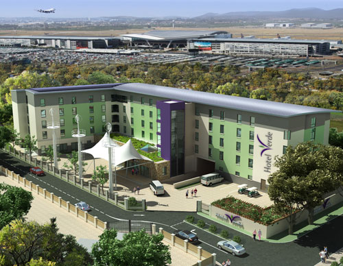 An artists impression of what Hotel Verde will look like