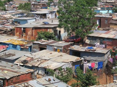Informal Settlements in Soweto Township