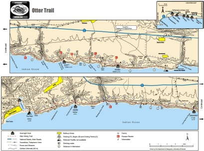 Otter Trail map